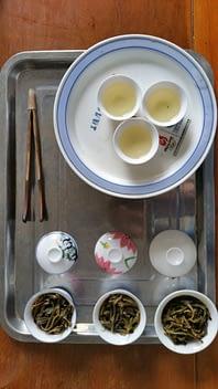 Chaozhou style tea tasting