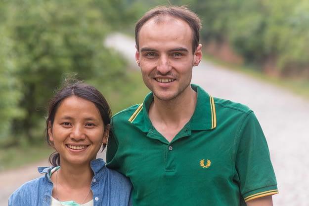 William und Yubai in Jing Mai