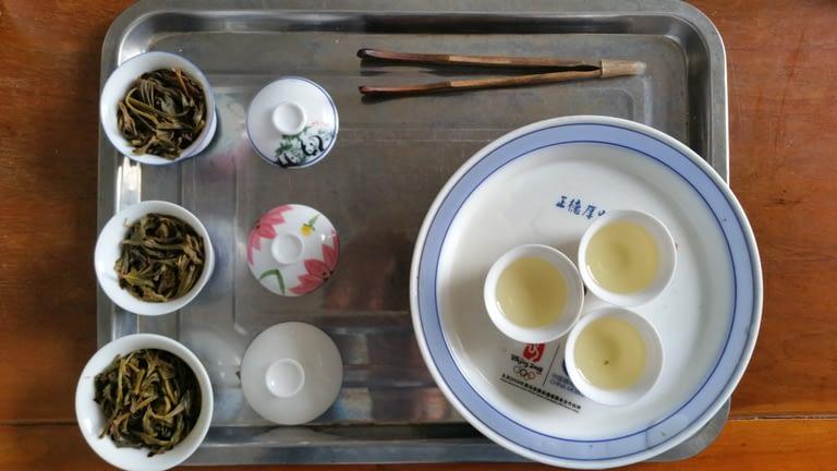 Chaouzhou style tea tasting